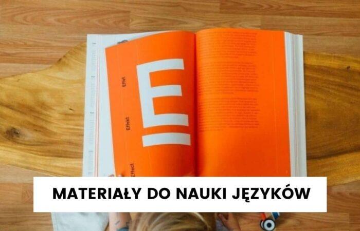 Materiały do nauki angielskiego i niemieckiego