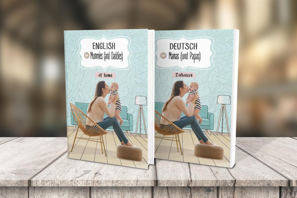 """e-booki z serii """"niemiecki dla rodziców"""" DEUTSCH FÜR MAMAS UND PAPAS"""