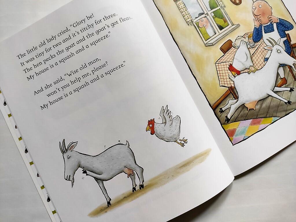 Środek książki t A Squash and a Squeeze