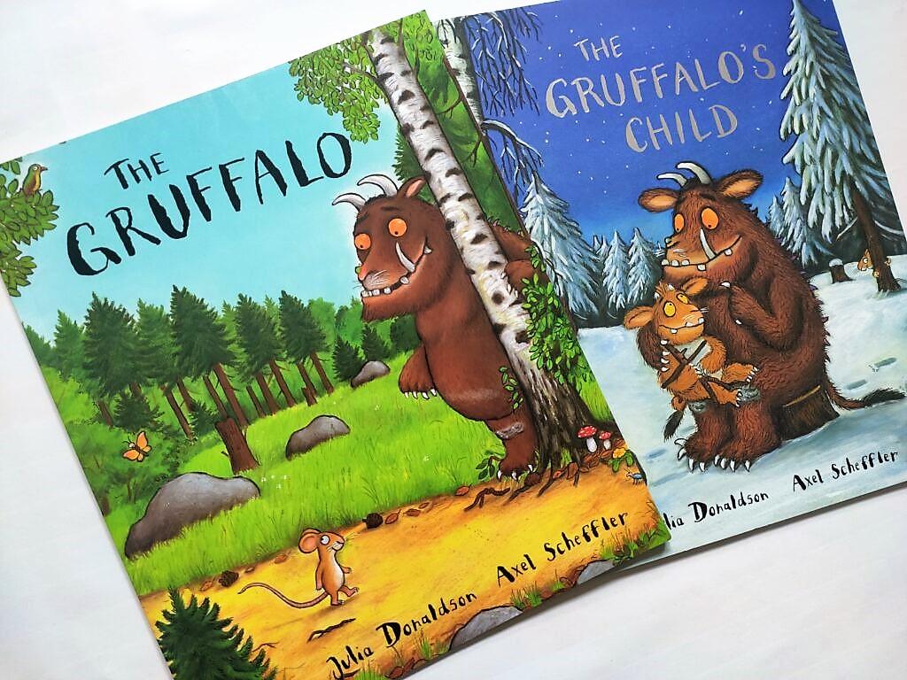 The Gruffalo i The Gruffalo's Child, Julia Donaldson