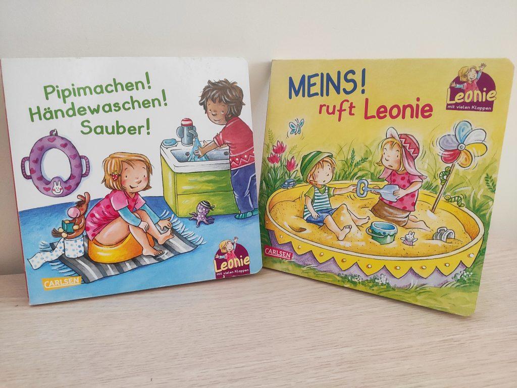 książki po niemiecku dla dzieci o Leonie