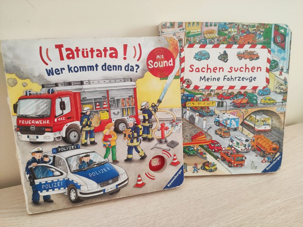 książki po niemiecku Sachen suchen