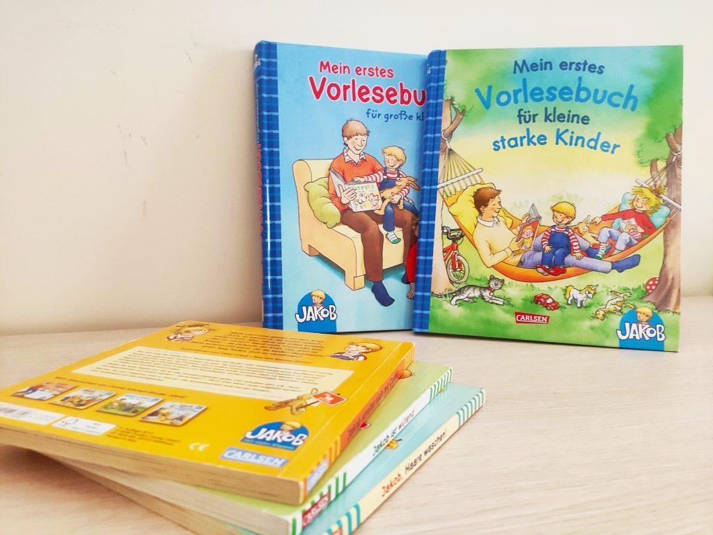 książki po niemiecku dla dzieci o Jakobie