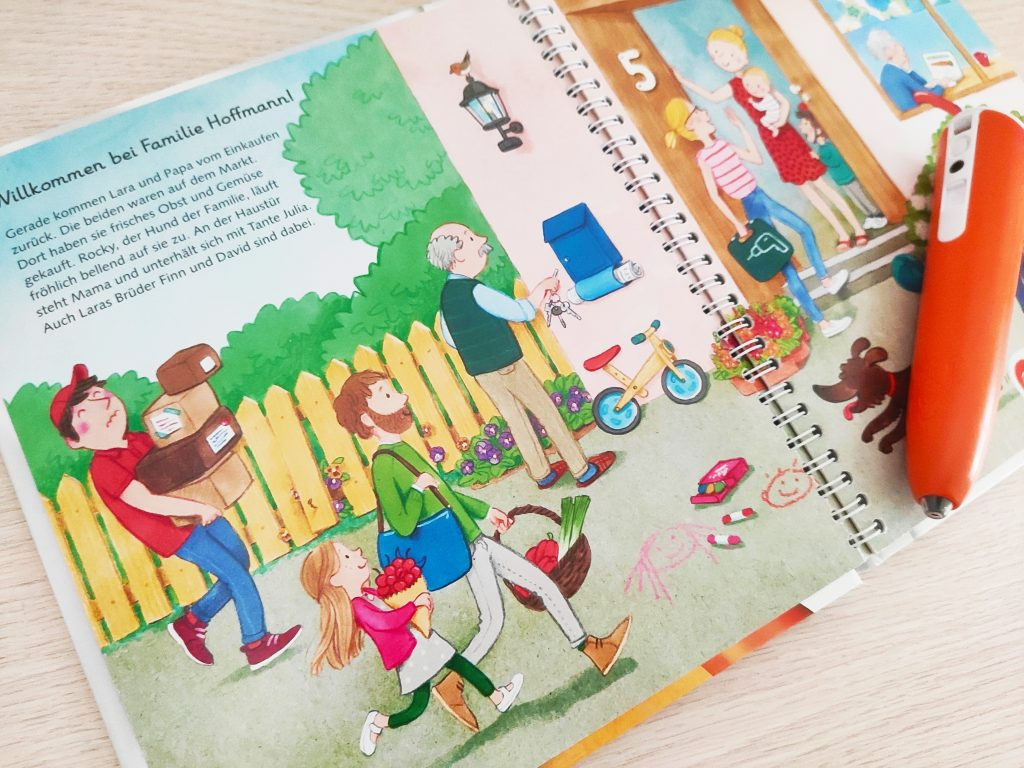 książki po niemiecku dla dzieci Tiptoi
