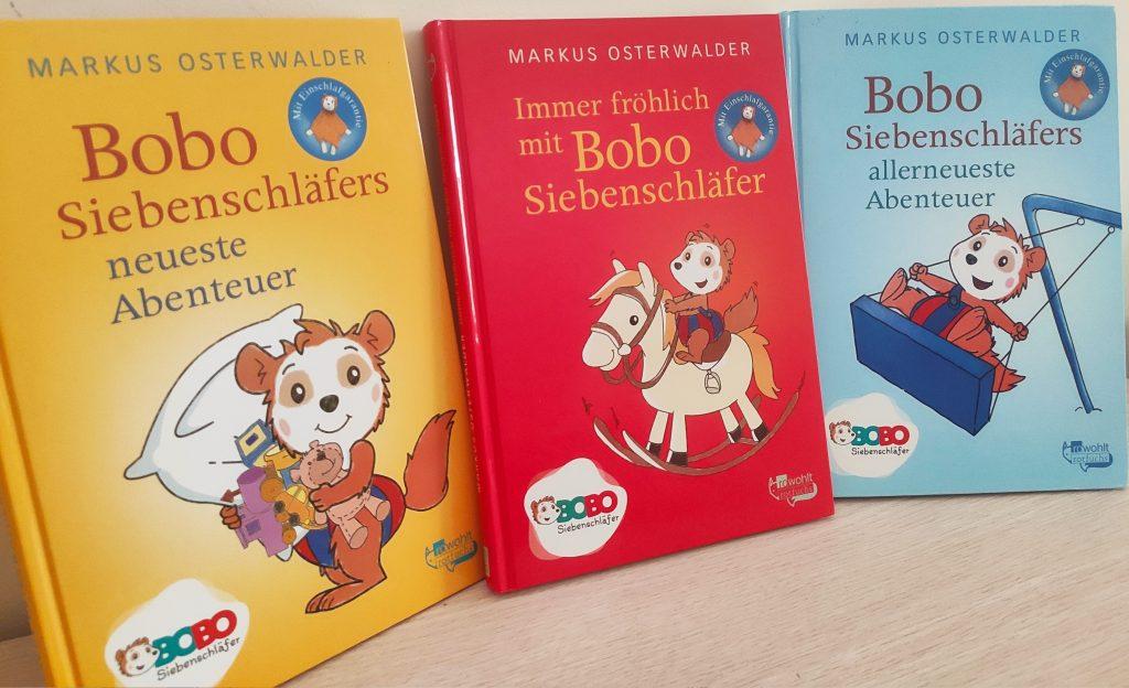 książka dla dzieci Bobo Siebenschläfer