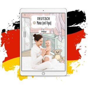 niemiecki dla rodziców niemowlaków deutsch fur mamas und papas babys