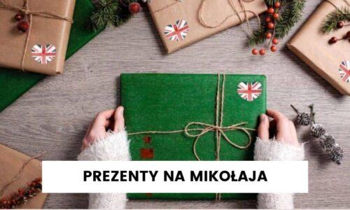 Prezenty na Mikołaja dla dzieci z angielskim w tle