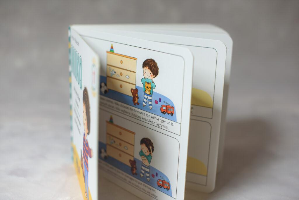Książka do nauki angielskiego dla dzieci Niko: My Very First Stores