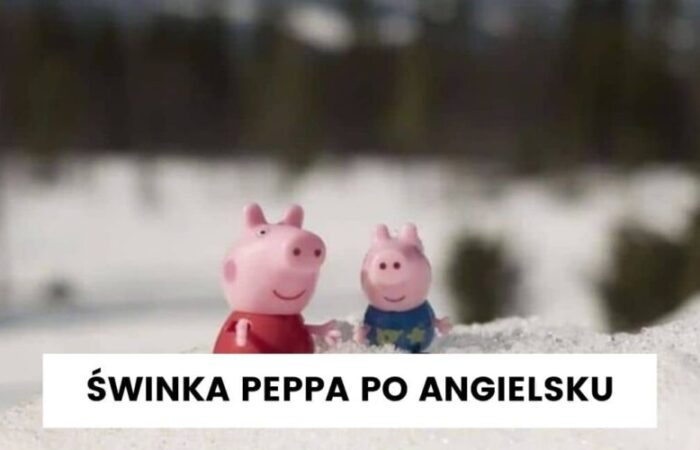 Świnka Peppa po angielsku – świąteczne słownictwo
