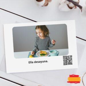 karty po hiszpańsku dla dzieci