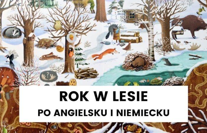 """Uczymy się języków z """"Rokiem w lesie"""" – styczeń"""