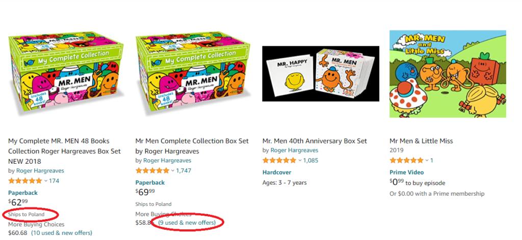 jak kupować na Amazonie angielskim