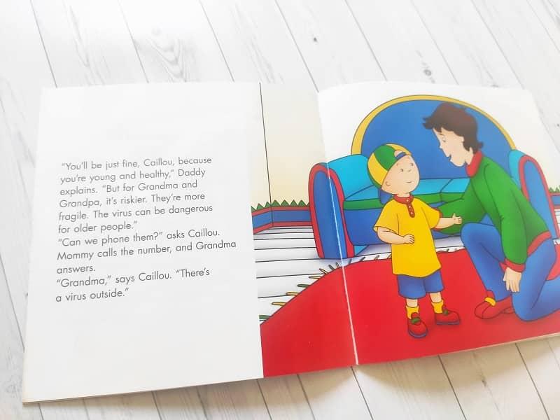 angielska książka o koronawirusie dla dzieci