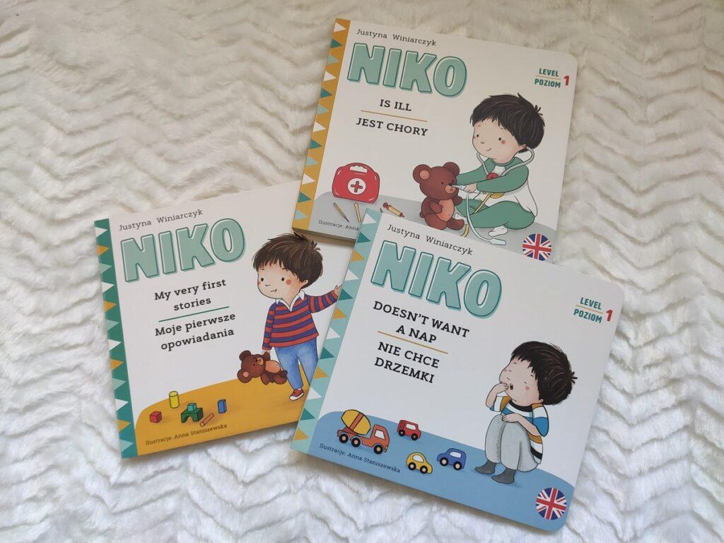 Niko książki dwujęzyczne dla dzieci z lektorem